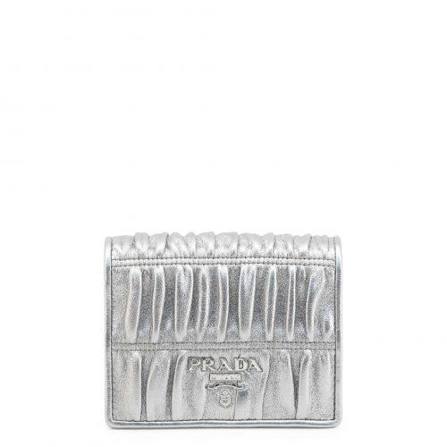 Portefeuille pour Femme Gaufre Prada